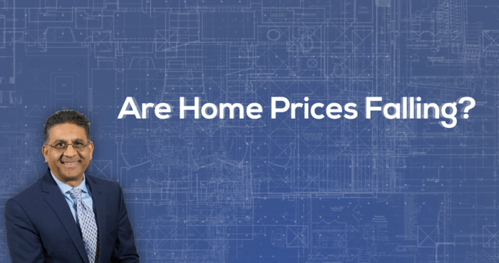 Home Prices are falling?