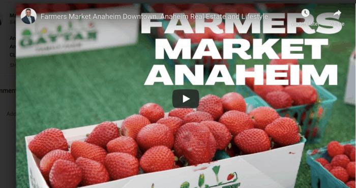 Farmers Market Anaheim Downtown
