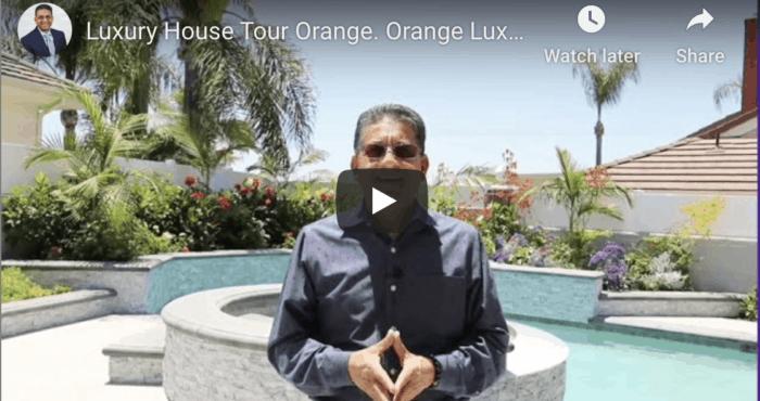 Luxury Home Tour Orange Ca