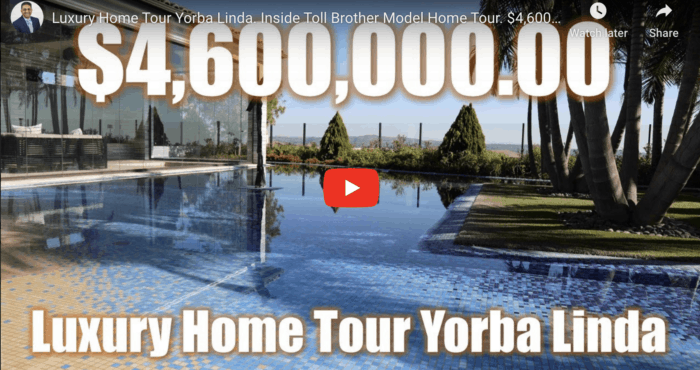 Luxury Home Tour Yorba Linda