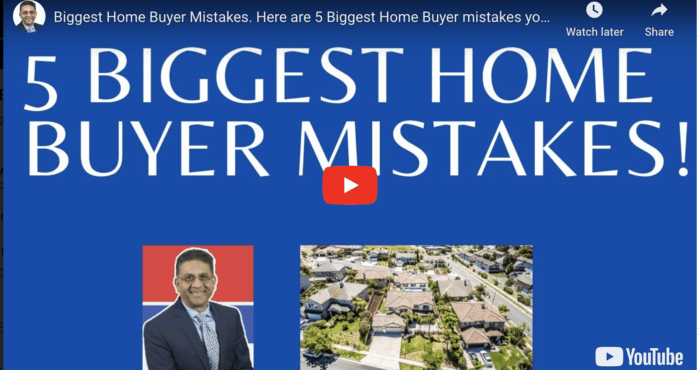 5 biggest home buyer mistakes