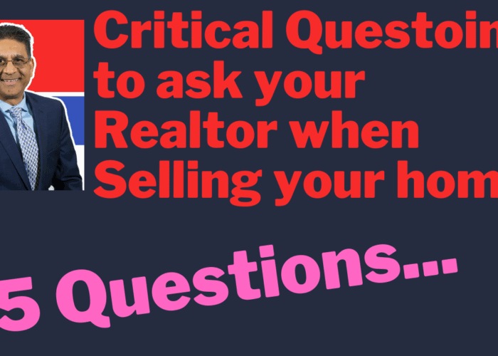 questions to ask your realtor when selling