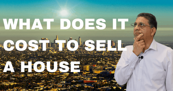 what does it cost to sell a house