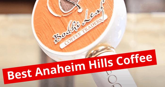 best anaheim hills coffee