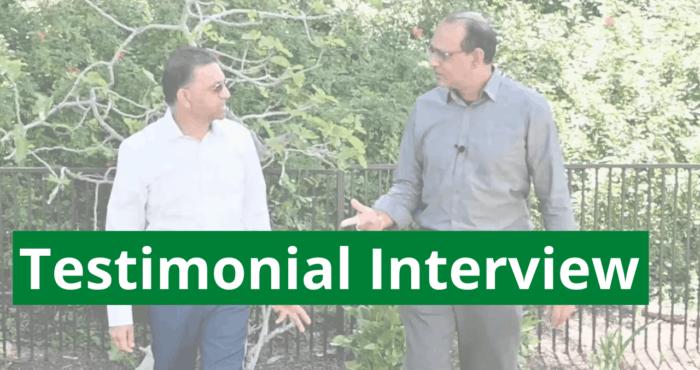 testimonial interview