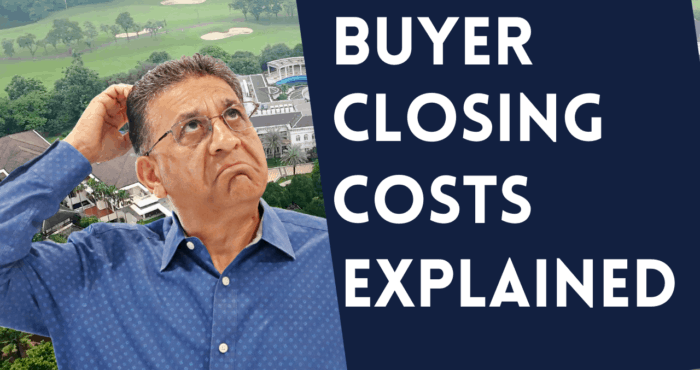 buyer closing costs explained